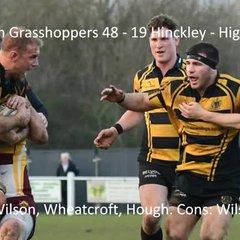 Preston Grasshoppers 48 - 19 Hinckley - Highlights