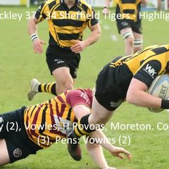 Hinckley 37 - 34 Sheffield Tigers - Highlights