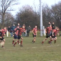 Josh Dixon's try v Consett Sat. 13th Jan. 2017