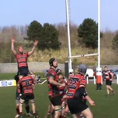 Our penaty in front of posts, we opted for the lineout and Rovers scored from our mistake v Rovers Sat. 21st April 2018