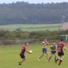 Neil Young's  try v Ashington Sat. 13th Oct. 2018