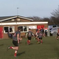 Andy Benbow's try v Darlington 16th feb. 2019