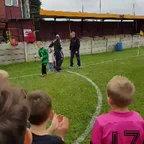LS27 FC Pinks Ossett Albion Gala trophy presentation