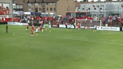 Propper Defending. Welling And Bognor Put Their Bodies On The Line