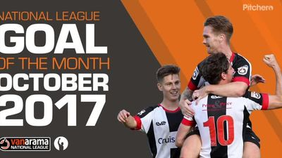 National League Goal of the Month - Top 5