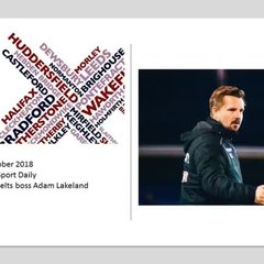 BBC Radio Leeds - West Yorkshire Sport Daily Interview with Adam Lakeland: 15 October 2018