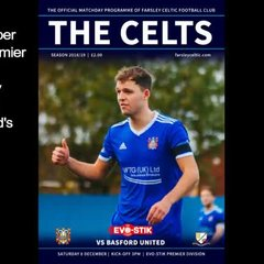 08 December 2018 - Adam Lakeland's post-match interview following the Celts 2-0 EVO-STIK Premier Division victory at the Nest against Basford United