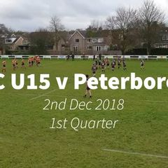 ORFC U15 v Peterborough