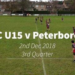 ORFC U15 v Peterborough - 3rd Quarter