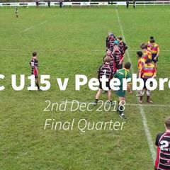 ORFC U15 v Peterborough - Final Quarter