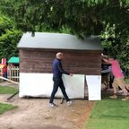 Kit shed moved