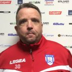 Thomas Baillie's post match comments after a dramatic semi final victory over Lowestoft Town