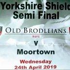 Yorkshire Shield 2019 Semi-final v Moortown