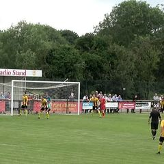 Banbury United v Easington - First Half Clips