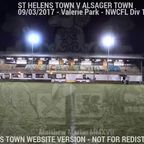 St Helens Town Vs Alsager Town (09.03.17)
