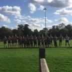 U10 Guard of honour 30th September 2017