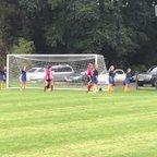 Shauna headed goal vs Harvesters 16 Sep 2017