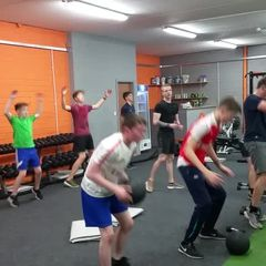 U15 Gym time