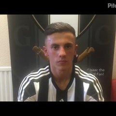 7-4-18 - Grantham Town v Mickleover Sports - post match interview with Sam Osborne