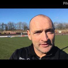 14-4-2018 - Workington v Grantham Town - post match interview with Adam Stevens