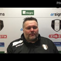 23-2-2019 - Grantham Town v Matlock Town - Post match interview with Grantham Town Joint Manager Paul Rawden