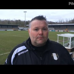 2-3-2019 - Hednesford Town v Grantham Town - Post match interview with Grantham Town Manager Paul Rawden