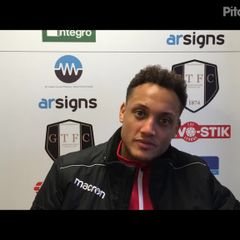 16-3-2019 - Grantham Town v Buxton - post match interview with Grantham Town Coach Adam Smith