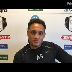 30-3-2019 - Grantham Town v Witton Albion - post match interview with Grantham Town Coach Adam Smith